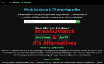 Stream2Watch & Alternatives