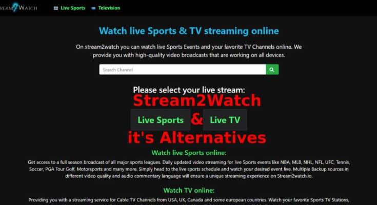 Stream2Watch & Alternatives