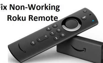Fix Non-Working Roku Remote