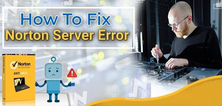 can't Connect to Norton Server Error