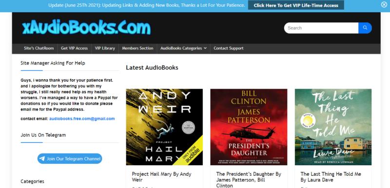 Audiobooks. Cloud